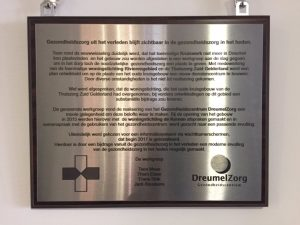 GHCplaquette onthulling